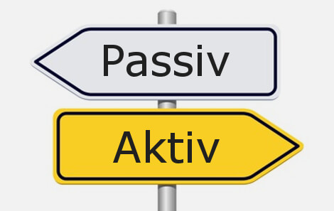 Passives versus aktives Investieren