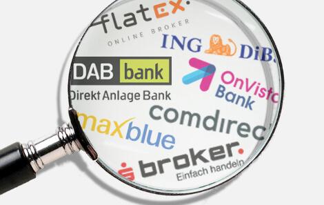 Online Broker Vergleich Deutschland