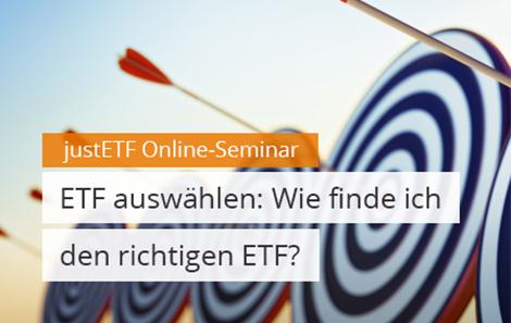 ETF auswählen: Wie finde ich den richtigen ETF