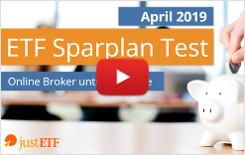 Video: ETF Sparplan Vergleich April 2019